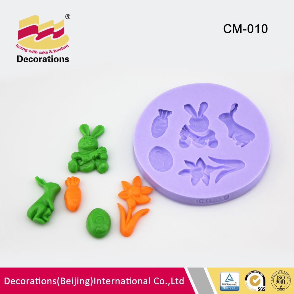 CM-010 Fondant Baking Silicone Candy Mould