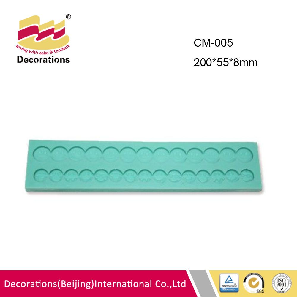 CM-005 Fondant Baking Silicone Candy Mould