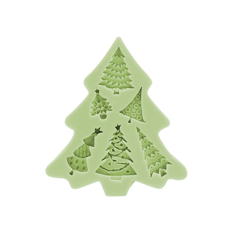CM-4375 - Christmas tree silicone mold