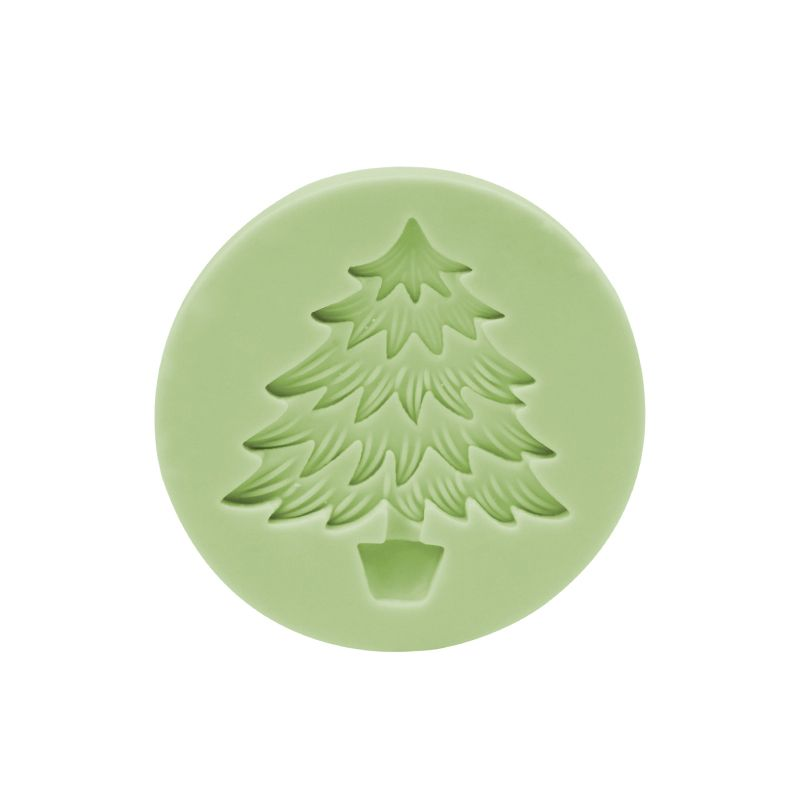 CM-4377 - Christmas tree silicone mold