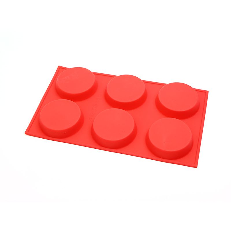 D-218 - 6 Cavity Silicone Cake Mould