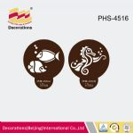 PHS-4516 Fish & Dragon cake stencils