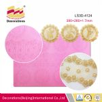 LS3D-4124 Silicone lace mat
