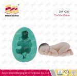 CM-4217 Silicone sleeping baby mold