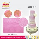 LS3D-4116 Silicone lace mat