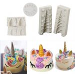 CM-4346-7 - 7pcs Unicorn silicone mold